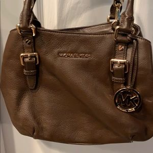 Dark brown Michael Kors purse